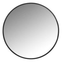 FLICK - Miroir rond en métal noir D60