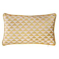 cotton cushion in yellow 30 x 50cm Mix