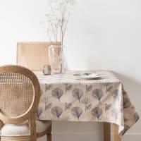 Nappe en coton motifs palmiers 140x250 Trawenga