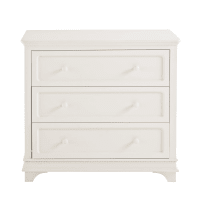 Off-White Chest of 3 Drawers Idylle
