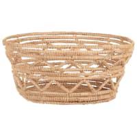 Openwork plant fibre basket D20cm