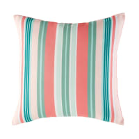 Outdoor Cushion with Striped Motifs 45x45