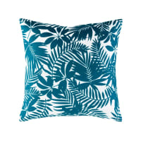 Outdoor Cushion with Tropical Print 45 x 45