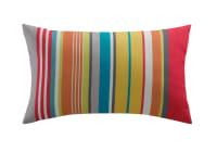 Outdoor-Kissen, mehrfarbig gestreift, 30x50, Capri