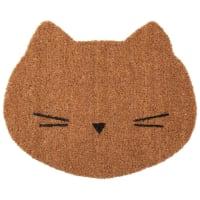 Paillasson chat en fibre de coco 38x45 Girly