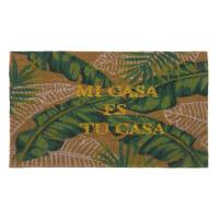 Paillasson imprimé tropical 45x75 Casa
