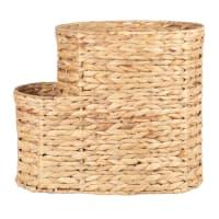 Panier de rangement en fibre végétale