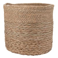 Panier tressé en fibre végétale
