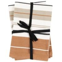 FRUMUNTICA - Paños de cocina de algodón ecológico con rayas (x2)