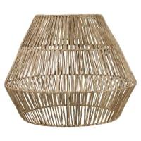 INIRIDA - Pantalla para lámpara de techo de fibra vegetal D.40