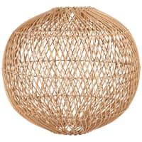 BAMBAO - Pantalla para lámpara de techo en ratán trenzado