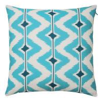 Outdoor Cushion in Blue /White 40x40 Papaya