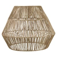 INIRIDA - Paralume per lampada a sospensione in fibra vegetale 40 cm