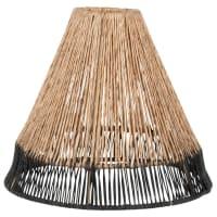 VOLCAM - Paralume per lampada a sospensione in iuta bicolore