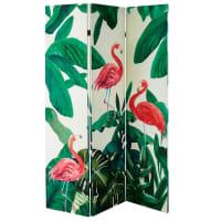 Paravent imprimé flamants roses Flamingo
