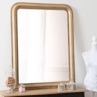 Paulownia Mirror in Gold 90x120 Celeste