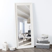 Paulownia Mirror in White 145x59 Valentine
