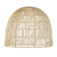 AVA - Pendant light in hand-woven rattan