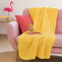 Plaid giallo, 150x230 cm Chal