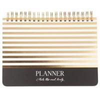 Planner à spirales en papier