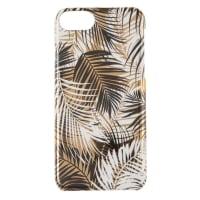 Plastic hoesje met blaadjesprint voor iPhone 6/7/8
