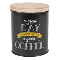 Pot en métal et mangoustanier imprimé Great Day