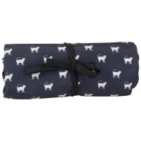 Printed Grey Cat Travel Blanket 60x60 Club