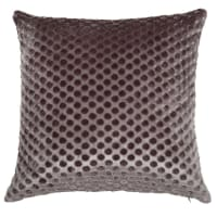 Printed Taupe Cushion Cover 40x40 Name