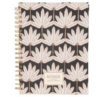 Quaderno per appunti a spirale in carta stampata