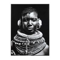Quadro foto bianco e nero, 103x143 cm Sayouba