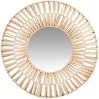 MODY - Raffia mirror D61cm