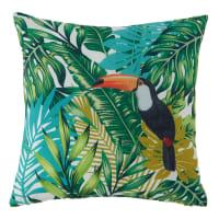 plant print outdoor cushion 45x45 Ramphastos
