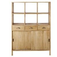 CEZANNE - Recycled Mango Wood 2-Door 3-Drawer Dresser