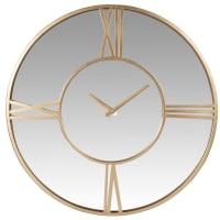ARIANA - Relógio em espelho e metal dourado D51