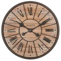 Reloj de madera y metal Diám. 50 cm Northwood