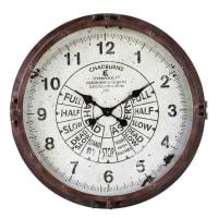 Reloj de metal efecto óxido D.72 Compas