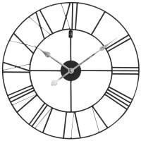 Reloj negro de metal D60 Usine