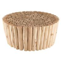 eucalyptus wood side table Robinson