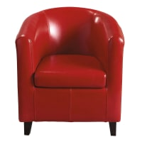 Roter Clubsessel Nantucket