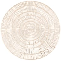 PRISMA - Set of 4 - Round gold cut-out placemat