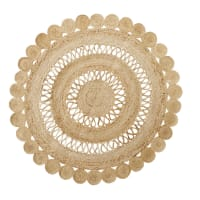 Round Jute Rug D150 Marno