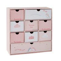 Roze cadeaubox geboorte Bird Song