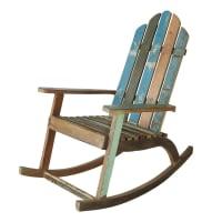 Schaukelstuhl aus Recyclingholz Calanque