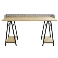 Schreibtisch im Industrial-Stil aus schwarzem Metall Atelier Hype