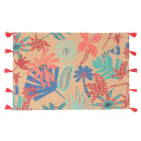 Set de table en papier imprimé floral 30x45 Alope