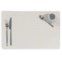 Set de table en plastique gris 28x43 Graphic