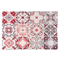 Set de table en vinyle motifs carreaux de ciment 30x45 Faro