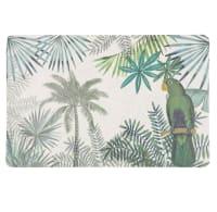 Set de table vert imprimé tropical Green Perrok