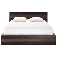 Solid Mango Wood 160 x 200 Double Exotic Bed Java