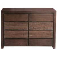 Solid mango wood chest of drawers Java